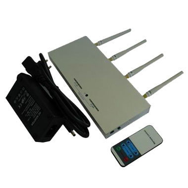 Wholesale Mobile Phone Jammer - 10m to 30m Shielding Radius - with Remote Controller