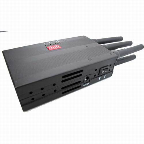 Wholesale Selectable Portable 3G Phone LoJack GPS Jammer with High Capacit
