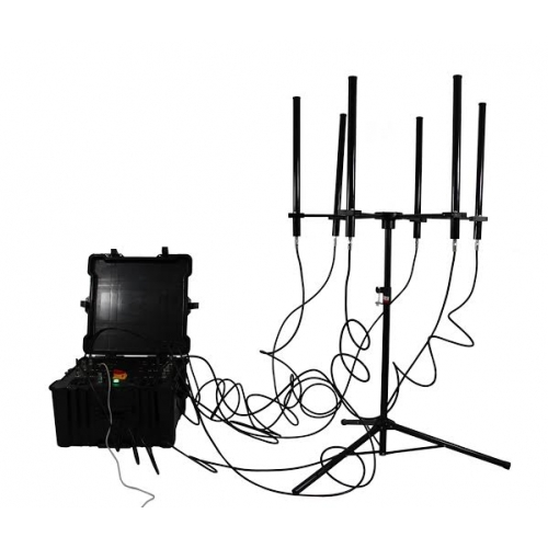 Wholesale 350W 4-8bands High Power Drone Jammer Jammer up to 2000m
