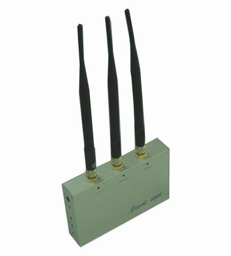 Wholesale Cell Phone Jammer with Remote Control (CDMA,GSM,DCS and 3G)
