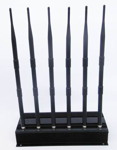 Wholesale 6 Antenna VHF, UHF, cell phone jammer (3G,GSM,CDMA,DCS)