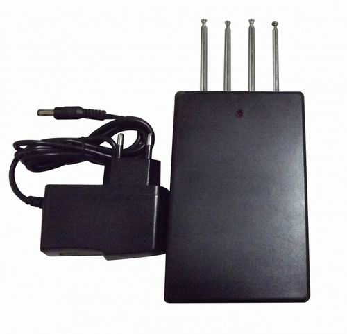 Wholesale Quad band Car Remote Control Jammer (315MHZ/ 330MHz/ 390MHZ/433MHz,50 meters)