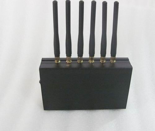 Wholesale 6 Bands Car Remote Control Jammer
