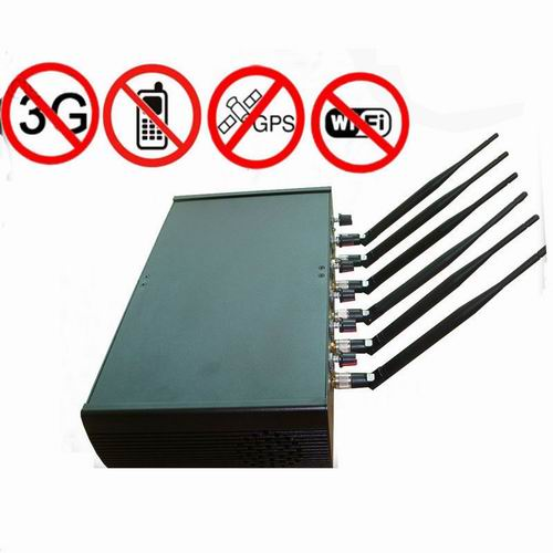 Wholesale Adjustable High Power 6 Antenna WiFi & GPS & Cell Phone Jammer