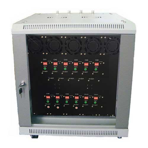 Wholesale 12Bands High Power Full Frequency All Cell Phone Jammerand Customize frequency Signal Jammer 20-3000MHz