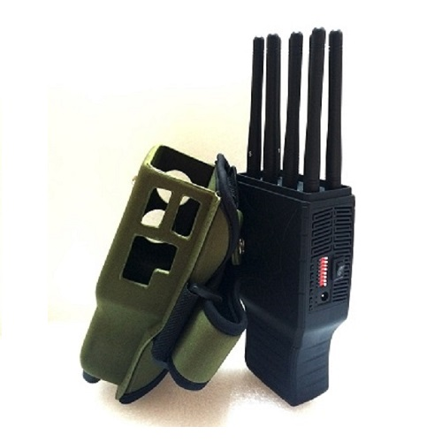 Wholesale Handheld 8 Bands All CellPhone and WIFI LOJACK GPS Signal Jammer