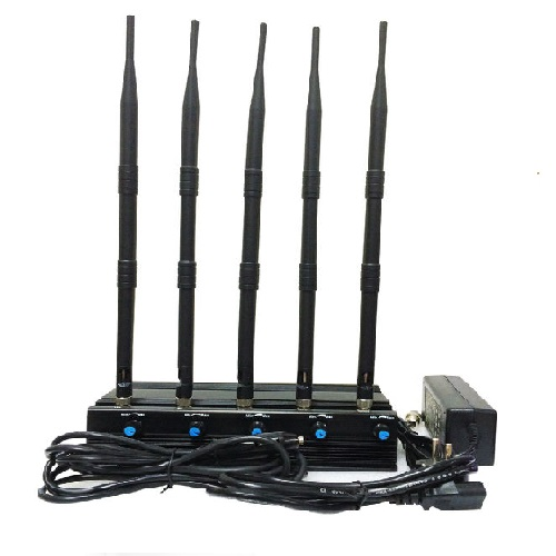 Wholesale Adjustable 5.2G/5.8G 2.4G WIFI Jammer With 4 Antennas