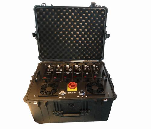 Wholesale Portable Multi Band High Power VHF UHF Jammer for Military and VIP Vehicle Convoy Protection