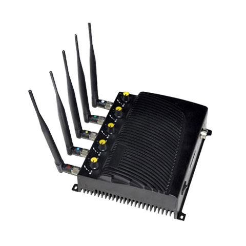 Wholesale Adjustable Cell phone WIFI GPS jammer-EU