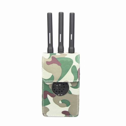 Wholesale Camouflage Design Fabric Material Portable Jammer Case