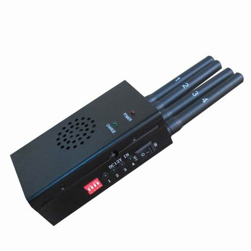 Wholesale Black Portable High Power 3G 4G LTE Mobile Phone Jammer
