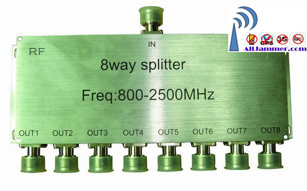 Wholesale 8 way power divider /splitter  for signal Repeater/Amplifier/Booster